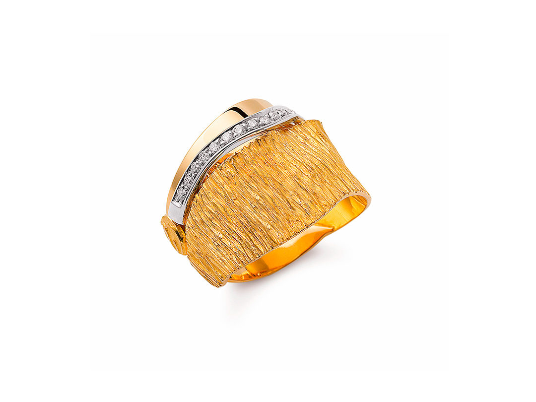 Luana Gold Diamond Ring